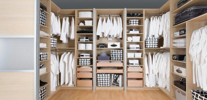 Ikea Schlafzimmer Planung: PAX Kleiderschrank, weiß, Hemnes weiß ...